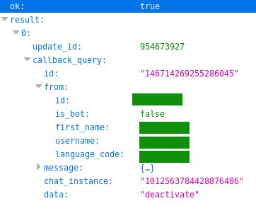 Telegram Motion Detection Bot – Part 2: Adding buttons